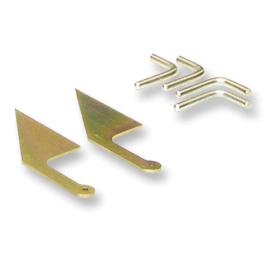 Steel Rope Storage Hooks And Steel Tarp Return Ramp Hardware Kit 501 0623