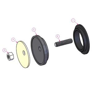 Single Pivot Bushing Kit 501 1181