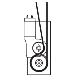 Single Cable Gear Motor Drive 502 0506