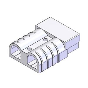 50 Amp Terminal Connector Gray 514 0505